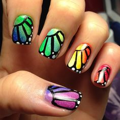 So neat, but too bad I would never be able to actually make them look like this