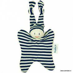 Knuffeldoekje Toddels Boyo klein marine blauw | - Knuffels | Zus & Kado Kraamkado met naam