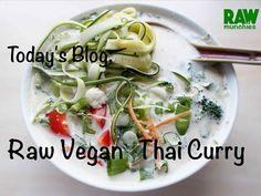 Raw Vegan Recipes, Thai Recipes, Indian Food Recipes, Asian Recipes, Vegan Thai Curry, Glutenfree, Website, Blog, Gluten Free