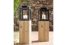 Home affaire, Laterne im Online Shop von Ackermann Versand #Garten #Sommer Tall Cabinet Storage, Home Appliances, Wood, Home Decor, Environment, Rustic Lanterns, Decorative Lanterns, Balcony, Lights
