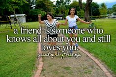 Not just a friend....a best friend