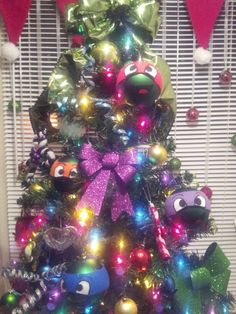 TMNT tree to do with the kids