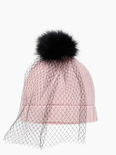 Perfect gift for your trend setting girlfriend  Kate Spade Veiled Beanie