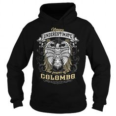 COLOMBO COLOMBOBIRTHDAY COLOMBOYEAR COLOMBOHOODIE COLOMBONAME COLOMBOHOODIES  TSHIRT FOR YOU