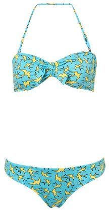 Just the right dose of girly goodness and whimsy - bird outline bikini from Top Shop, $55