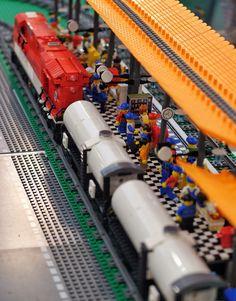 lego train station