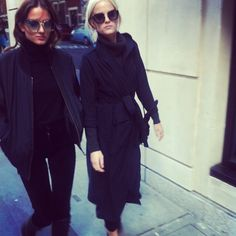 Say Lou Lou chic in all black