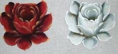 Como pintar rosas em tecido , pintura em tecido rosas , com risco e dicas de pintura em tecido.pintura em tecido com fotos passo a passo.artesanato