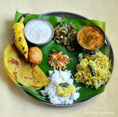 Chitra's Food Book: Ugadi Lunch Menu-Karnataka Style