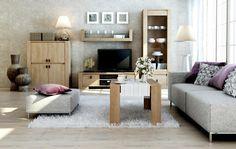 KN225 moderní obývací stěna s konferenčním stolkem / living room furniture Cool Coffee Tables, Modern Interior, Nebraska, Couch, Furniture, Home Decor, Settee, Decoration Home, Sofa