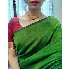 Simple Sarees, Trendy Sarees, Stylish Sarees, Casual Indian Fashion, Indian Fashion Dresses, Saree Fashion, Saree Wearing Styles, Saree Styles, Indian Dress Up