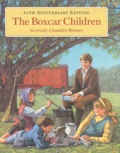The Boxcar Children by Gertrude Chandler Warner.