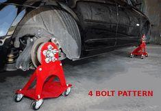 4 Bolt Car Dolly Roll Around Attachments