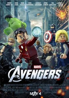 Lego's and Avengers...how cool together!