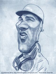 Caricature of the great sTIRLING mOSS §