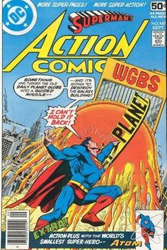 Cover for Action Comics #487 (1978)