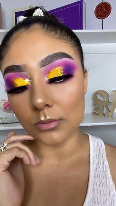 Disney Eye Makeup, Eye Makeup Diy, Crazy Eye Makeup, Dope Makeup, Makeup Eyeshadow Palette, Eye Makeup Designs, Halloween Eye Makeup, Creative Makeup Looks, Colorful Eye Makeup