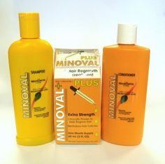 Minoval Shampoo, Conditioner & Hair Regrowth Treatment by Minoval. $21.02. Hair regrowth treatment for Women. Shampoo & Conditioner has a fusion of Almond Oil.