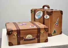 Sylvia Weinstock Cakes - luggage suit cases