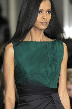 liya kebede for valentino. blow out. #hair