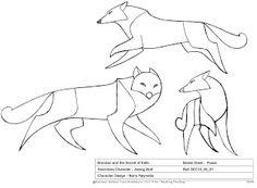 "Feature Design by Barry Reynolds: ""Secret of Kells"" - Aisling Wolf Animal Sketches, Animal Drawings, Art Drawings, Wolf Drawings, Drawing Animals, Das Geheimnis Von Kells, Storyboard, Studio Ghibli, The Secret Of Kells"