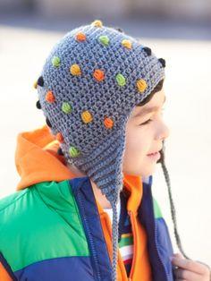 Smarty Pants Hat | Yarn | Free Knitting Patterns | Crochet Patterns | Yarnspirations