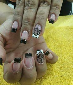 Hot Nails, Pedicures, Yuri, Diana, Nail Designs, Nail Art, Beauty, Black Gel Nails, Red Toenails