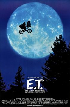 Et The Extra Terrestrial poster Metal Sign Wall Art x Et Movie Poster, Iconic Movie Posters, Iconic Movies, 1980's Movies, Disney Movie Posters, Comedy Movies, Film Movie, Poster Wall, Poster Prints