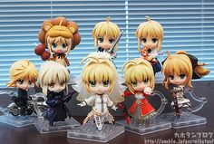 nendoroid capcom saber saber_lion type_moon saber_alter saber_lily good_smile_company hobby_japan fate/stay_night…