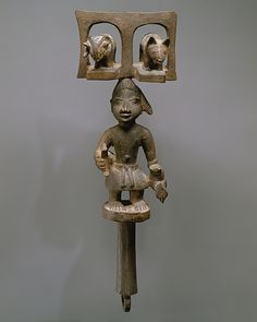 During his lifetime, Duga was recognized as Meko's most talented sculptor. Both Duga's father and grandfather had been woodcarvers. His father also occupied an important position within the Gelede society, a major patron of sculptural works that subsequently sponsored Duga's apprenticeship