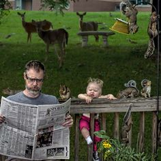Dave Engledow wanted to document the life of her daughter Alice Bee. Through these crazy captured images on this photo series, it will enable him to create a 2013 Calendar of the World's Best Father. Funny Photos, Cool Photos, Father And Baby, World's Greatest Dad, Worlds Best Dad, Daddy Daughter, Dad Humor, Good Good Father, Children Photography