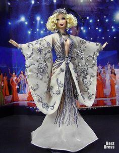 Miss Denmark ( dress Ella Zahlen )   Ninimomo's Barbie. Europe. 2009/2010