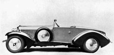 1929 Speed 6 Open Two-seater by Barker (chassis KF2400)
