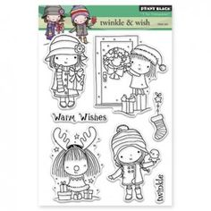 Penny Black Clear stamp TWINKLE & WISH