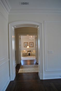 The Enchanted Home: house updates Moldings And Trim, Crown Molding, Moulding, Enchanted Home, Baseboards, Laundry Room, Woodworking, Wall, Decorating Ideas
