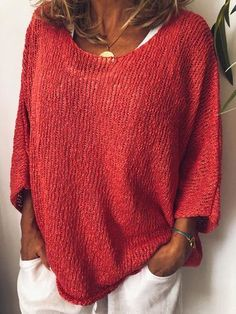 Plus Size Sweaters, Casual Sweaters, Winter Sweaters, Casual Tops, Sweaters For Women, Oversized Sweaters, Vintage Sweaters, Cozy Sweaters, Pullover Sweaters