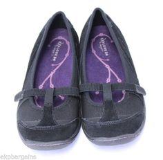 Easy-Spirit-Explore-24-Eslena-Womens-Shoes-Size-9-5M-Black-and-deep-purple-W125