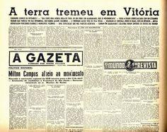 1955: segundo maior terremoto do Brasil fez Vitória tremer - Gazeta Online - O maior portal do Espírito Santo