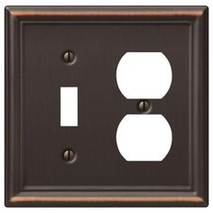 Devon Black Toggle / Duplex Outlet | Bathroom | Pinterest | Devon ...