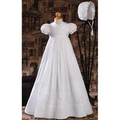 Amber Cotton Christening Gown