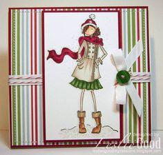 Bellariffic Friday - Sketch 20 Stamping Bella Uptown Girls: Quinn in her Boots