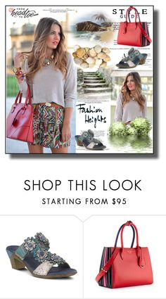 """set 143"" by fahirade ❤ liked on Polyvore featuring Spring Step and Prada"