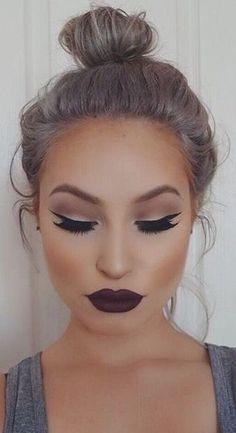 Este es un estilo más cargado ideal para salir por la tarde noche.   #makeup #juju