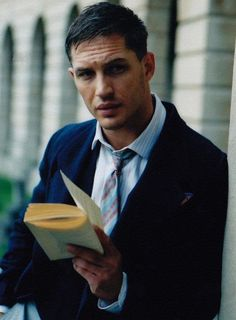 tom hardy reads and so should you.