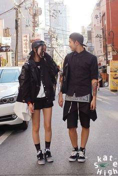 new Ideas fashion korean couple street style Korean Fashion Trends, Korean Street Fashion, Korea Fashion, Kpop Fashion, Asian Fashion, Mens Fashion, Style Fashion, Fashion Guide, Kpop Mode