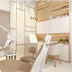 Clinic Interior Design, Clinic Design, Design Portfolios, Dentist Clinic, Esthetician Room, Dental Office Decor, Dental Office Design, Commercial Design, Office Interiors