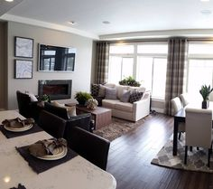 Northport Village Living Room Residential Interior Design Denver