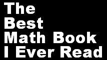 Math Coach's Corner: The Best Math Book I Ever Read Linky.