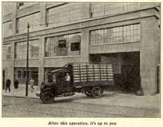 "Bethel, 1928: ""After books leave the factory . . .""(love the caption!)"