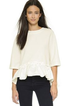 Ruffle Top by English Factory – Jupe NYC
